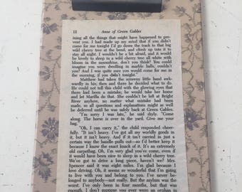 Clipboard of Anne of Green Gables pg 12
