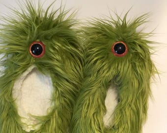 Sock Monster Slippers!