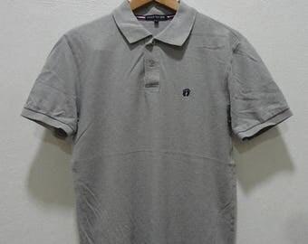 ON SALE 20% Rare Vintage Hang Ten Polo Shirt, Size L ,Hang Ten Shirt,Skateboard,Skater,Hip Hop