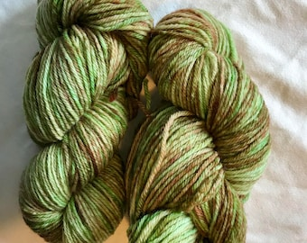 100% Wool Yarn, Worsted Weight