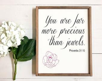 You are far more Precious