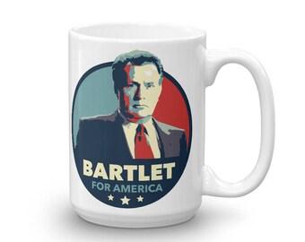 Bartlet for America Mug West Wing
