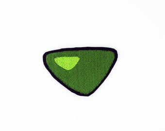 Peridot Patch, Steven Universe Patch, Crystal Gem Patch, Steven Universe Pin, Iron On Peridot Patch, Peridot Pin