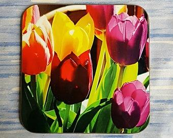 Coasters - Tulip Flowers
