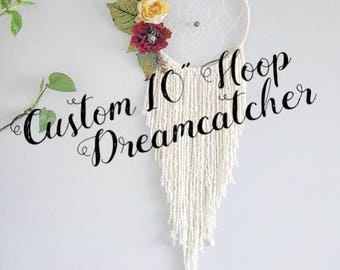 boho wall hanging, large rustic dreamcatcher, dream catcher, dreamcatcher, nursery baby dreamcatcher, custom dreamcatcher, personalized gift