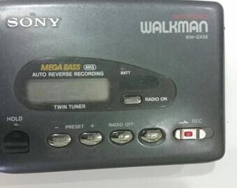 Vintage Retro  SONY WM-GX51 Rare Recording Walkman