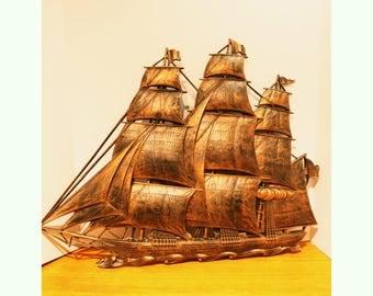 Sailing Ship Etsy