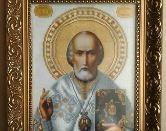 "Icon Of Saint Nicholas The Wonderworker """