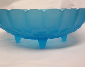 Vintage Indiana 4 Footed Bowl