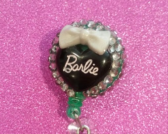 I'm a barbie girl badge reel
