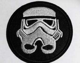 "Trooper Iron on Embroidered patch (3.0"")"