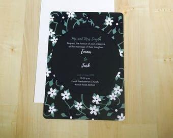 Tropical Storm Wedding Invitations