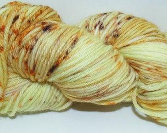 Cheese Soup - Superwash Merino Wool Hand-Dyed Yarn 100G