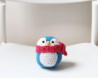 PENGUIN amigurumi crochet, amigurumi penguin, crochet penguin, penguin baby gift, penguin crochet toy, nursery decoration, gift for kids