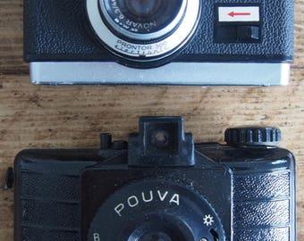 Pair Vintage Cameras 1960's