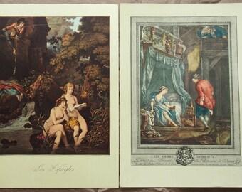 2 Vintage Illustrations