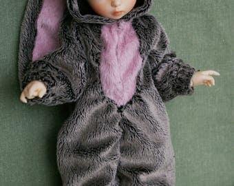 Kigurumi Bunny for BJD Littlefee Ante 1/6 (26 cm)