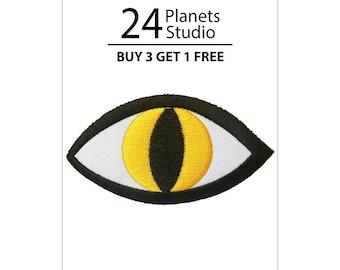 Dragon Eye Iron on Patch by 24PlanetsStudio