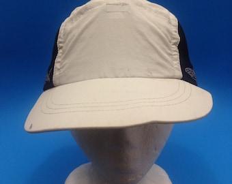 Vintage Columbia 5 Panel Strapback Hat Adjustable Brim needs a bit of reshaping Fishing