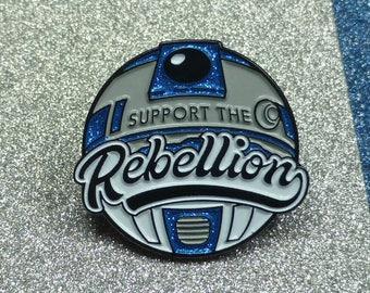 Star Wars inspired Rebellion Enamel Pin |  Pin Badge | Pin Badges | Soft Enamel Pin Badge