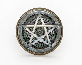 ADJUSTABLE RING PENTACLE-unique model/unique model-Adjustable ring pentacle
