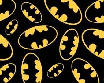 Batman baby blanket tie blanket