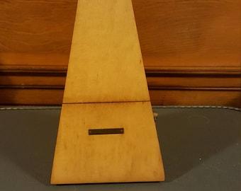 Vintage Seth Thomas wooden metronome. Non- Working.