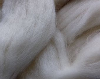 White Faced Woodland Wool rovings  100g