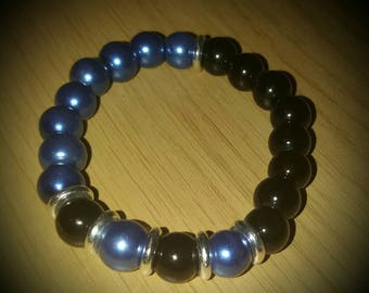 Childrens Blue and Black bracelet