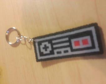 Nintendo perler keychain