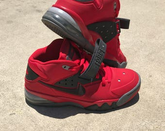 2013 Nike Air Force Max Fire Red Charles Barkley 1
