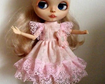 BLYTHE,PULLIP  clothes Pink Free shipping