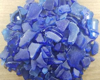 Cobalt Beach Glass, Rare Beach Glass, Cobalt Blue Sea Glass, Genuine Beach Glass, Genuine Sea Glass, Mosaic Beach Glass, Craft Beach Glass
