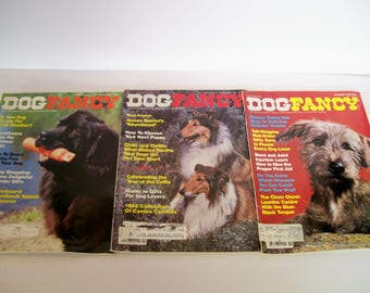 Dog Fancy Magazines November 1983 Nov,Dec, 1986