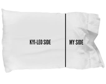 Kyi-Leo Pillowcase - Funny Kyi-Leo Pillow case - Kyi-Leo Gifts - Kyi Leo Dog Side My Side