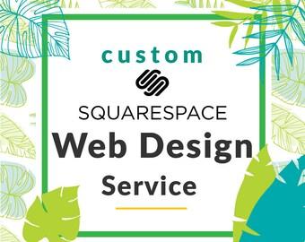 custom web design etsy. Black Bedroom Furniture Sets. Home Design Ideas