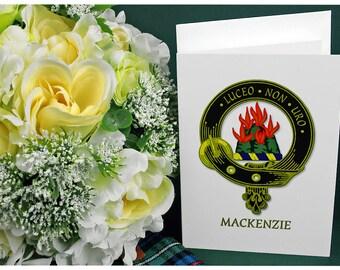 Greeting Cards Clan & Crest - MacKenzie