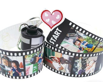 Photo Film Collection Roll -  Personalized Pull Out Photobook - Precious Memory Time Capsule - Customized Personalized Gift