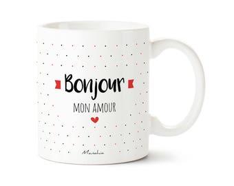 Mug Hello my love mug, Valentine's day gift, Valentine's day gift, baby, baby gift
