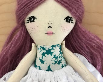 Rag Doll Cloth Doll Fabric Dolls Rag Dolls Fabric Doll Cloth Dolls Handmade Cloth Dolls Heirloom Doll Dolls Handmade Doll Handmade