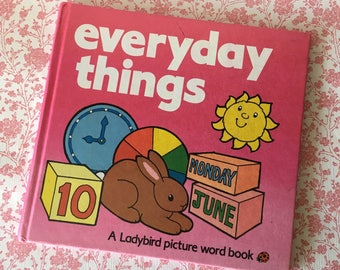 Ladybird 'Everyday Things' First Words Book