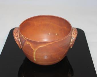 Serving bowl, kitchen bowl, bowl, dish, large bowl, yellow bowl.