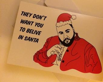 DJ Khaled Christmas Card