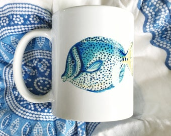 Fish Siehorse Fine Art Mug, 11 oz.