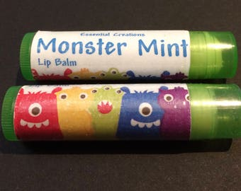 Monster Mint Lip Balm