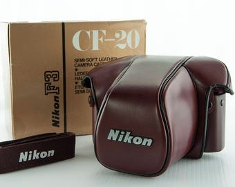 Nikon F3 Leather Ever Ready Case and Strap
