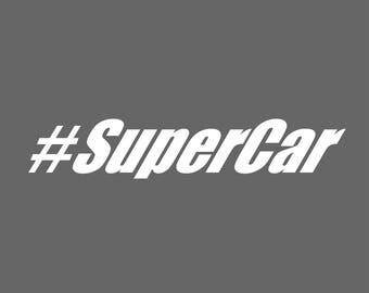 Super Car Decal