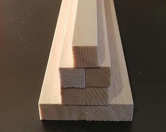 "Balsa Wood Block (18"") 450mm Long - Various Sizes"