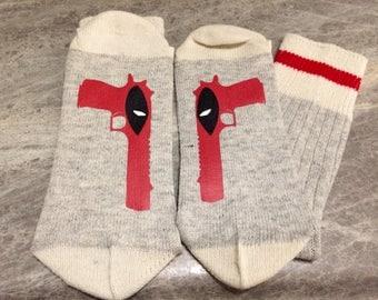 Deadpool (Socks)