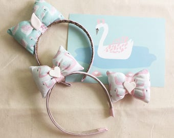 Custom Made Headband and hair clip! Designed (fabric and theme) only for you!
